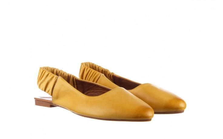 Sandały bayla-161 066 730 353 yellow, żółty, skóra naturalna  - sandały - dla niej  - sale 1