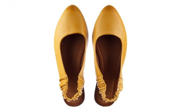 Sandały bayla-161 066 730 353 yellow, żółty, skóra naturalna  - sandały - dla niej  - sale 4