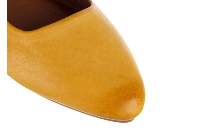 Sandały bayla-161 066 730 353 yellow, żółty, skóra naturalna  - sandały - dla niej  - sale 5
