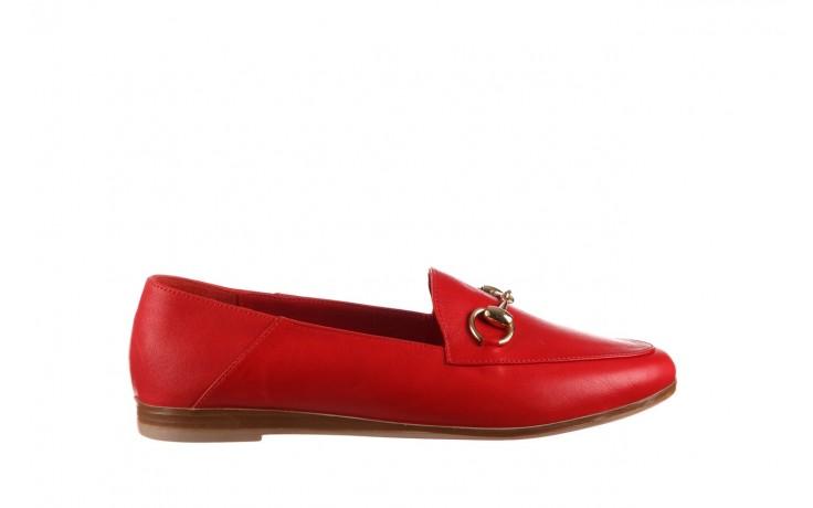 Półbuty bayla-161 138 80127 red, czerwony, skóra naturalna - półbuty - buty damskie - kobieta