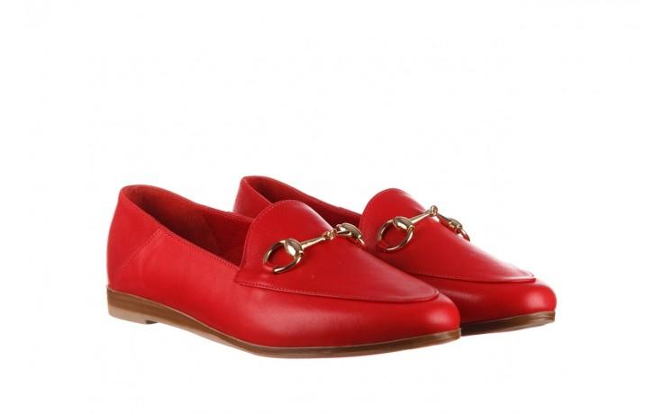 Półbuty bayla-161 138 80127 red, czerwony, skóra naturalna - półbuty - buty damskie - kobieta 1