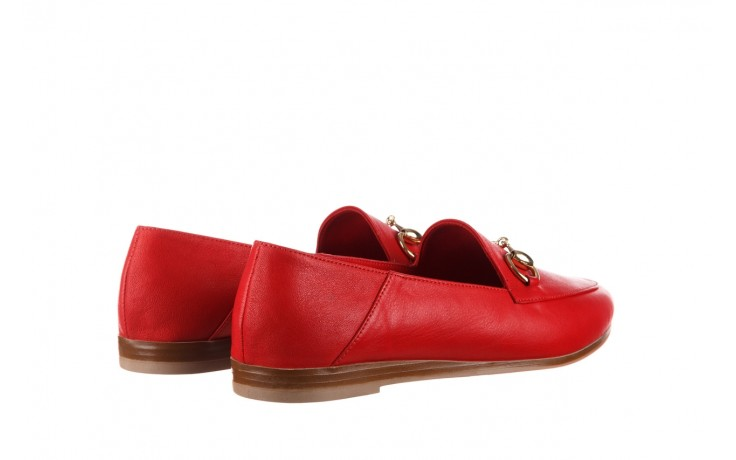 Półbuty bayla-161 138 80127 red, czerwony, skóra naturalna - półbuty - buty damskie - kobieta 3