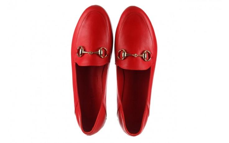 Półbuty bayla-161 138 80127 red, czerwony, skóra naturalna - półbuty - buty damskie - kobieta 4