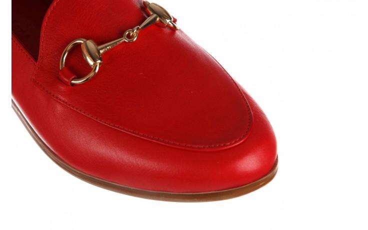 Półbuty bayla-161 138 80127 red, czerwony, skóra naturalna - półbuty - buty damskie - kobieta 6