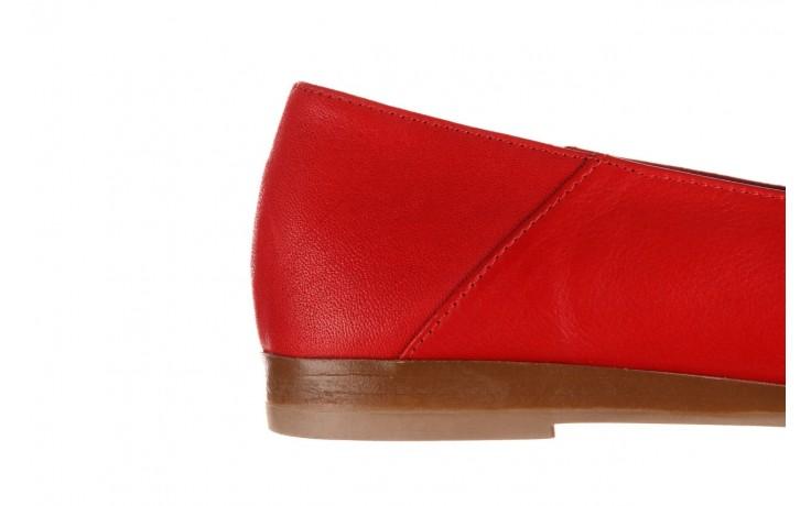 Półbuty bayla-161 138 80127 red, czerwony, skóra naturalna - półbuty - buty damskie - kobieta 7
