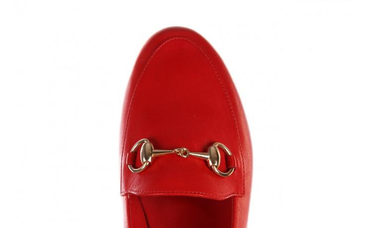 Półbuty bayla-161 138 80127 red, czerwony, skóra naturalna - półbuty - buty damskie - kobieta 5