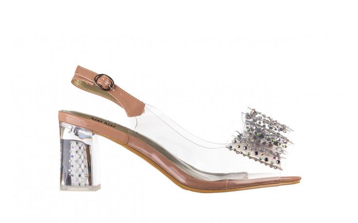 Sandały sca'viola g-60 l. pink 047175, róż, silikon - nowości