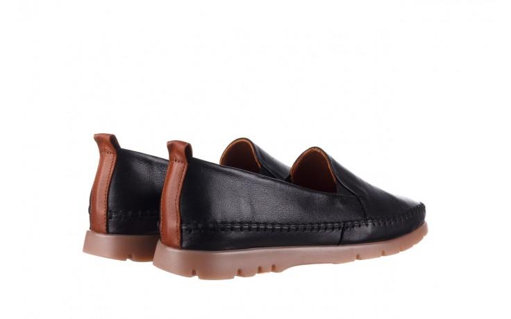 Półbuty bayla-161 078 14305 5 black, czarny, skóra naturalna  - półbuty - buty damskie - kobieta 3