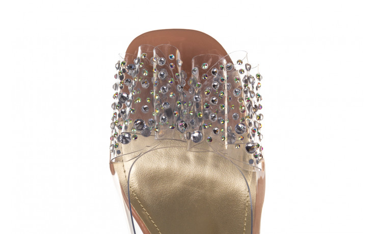 Sandały sca'viola g-60 l. pink 047175, róż, silikon - nowości 6
