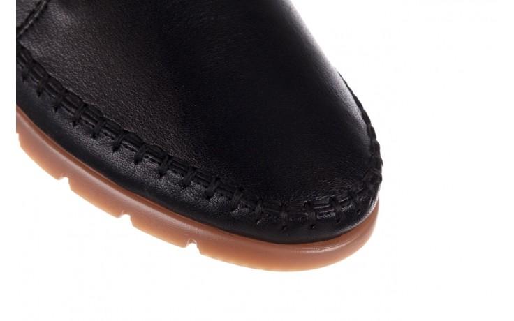 Półbuty bayla-161 078 14305 5 black, czarny, skóra naturalna  - półbuty - buty damskie - kobieta 5