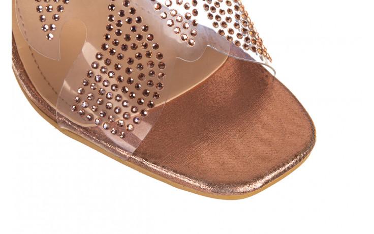 Klapki sca'viola g-57 gold 047173, złoty, silikon - klapki - buty damskie - kobieta 5