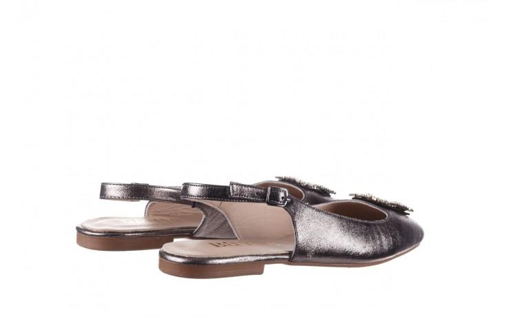Sandały bayla-161 093 388 4054 platin, srebrny, skóra naturalna - wiosna-lato 2020 3