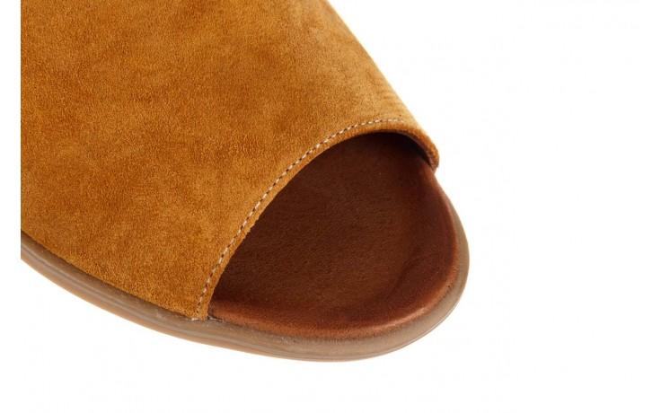 Sandały bayla-161 061 1612 noce suede, żółty, skóra naturalna  - sandały - buty damskie - kobieta 5