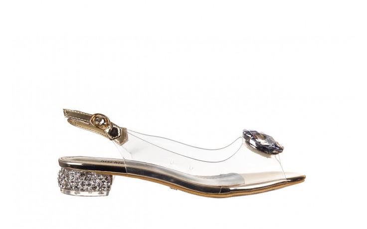 Sandały sca'viola g-15 gold 047168, złoty, silikon - nowości