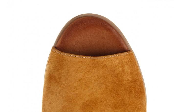 Sandały bayla-161 061 1612 noce suede, żółty, skóra naturalna  - sandały - buty damskie - kobieta 6