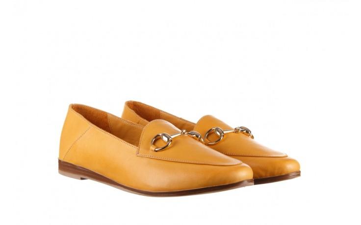 Półbuty bayla-161 138 80127 noce, żółty, skóra naturalna - półbuty - buty damskie - kobieta 1