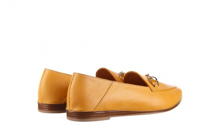 Półbuty bayla-161 138 80127 noce, żółty, skóra naturalna - półbuty - buty damskie - kobieta 3