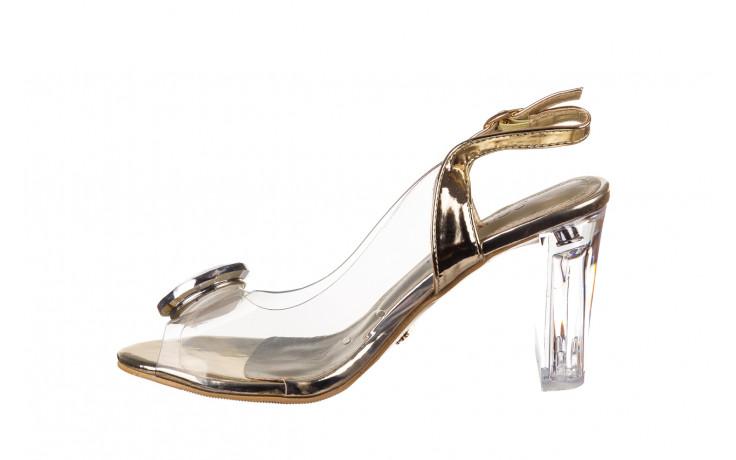 Sandały sca'viola g-17 gold 21 047169, złoty silikon - sca`viola - nasze marki 2