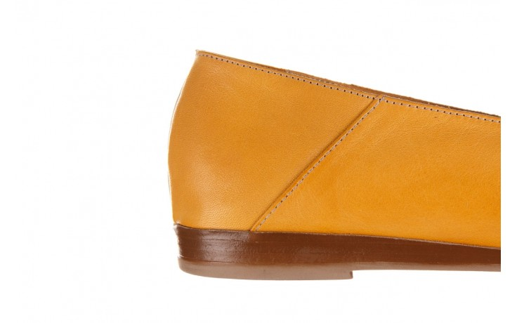 Półbuty bayla-161 138 80127 noce, żółty, skóra naturalna - półbuty - buty damskie - kobieta 7