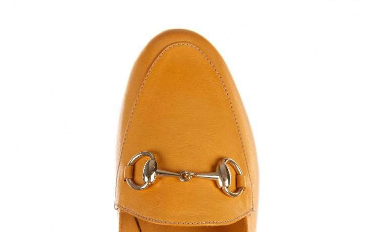 Półbuty bayla-161 138 80127 noce, żółty, skóra naturalna - półbuty - buty damskie - kobieta 5