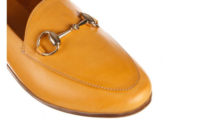 Półbuty bayla-161 138 80127 noce, żółty, skóra naturalna - półbuty - buty damskie - kobieta 6
