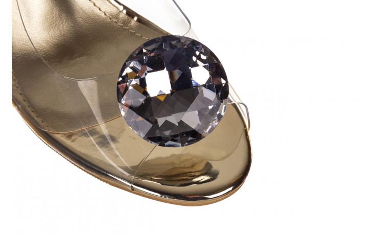 Sandały sca'viola g-17 gold 21 047169, złoty silikon - sca`viola - nasze marki 5