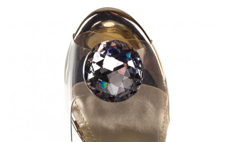Sandały sca'viola g-17 gold 21 047169, złoty silikon - sca`viola - nasze marki 6