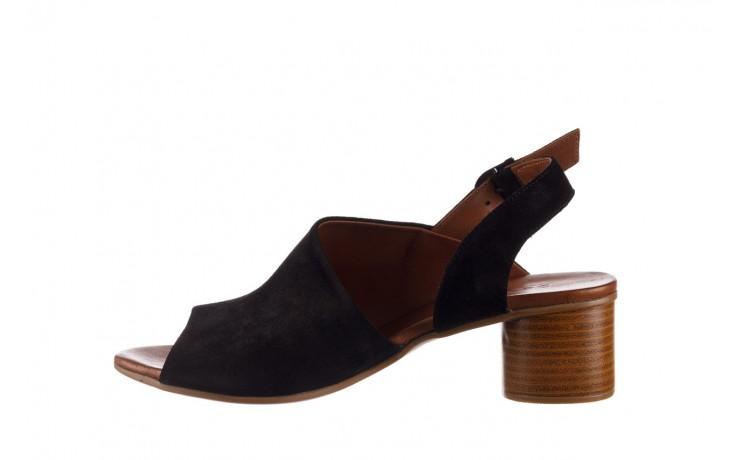 Sandały bayla-161 061 1030 black suede, czarny, skóra naturalna zamszowa - sandały - dla niej  - sale 2