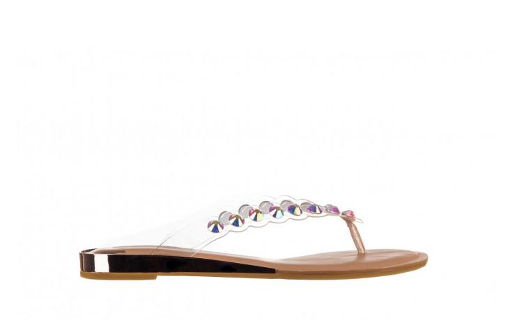 Klapki sca'viola b-174 pink 047167, róż, silikon - klapki - buty damskie - kobieta
