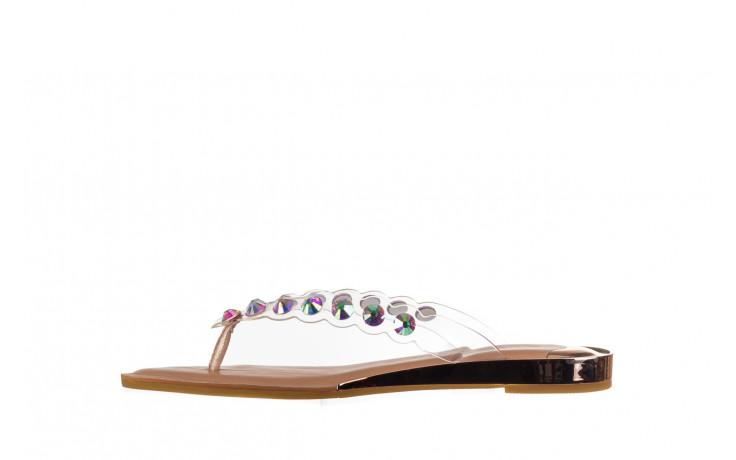 Klapki sca'viola b-174 pink 047167, róż, silikon - klapki - buty damskie - kobieta 2