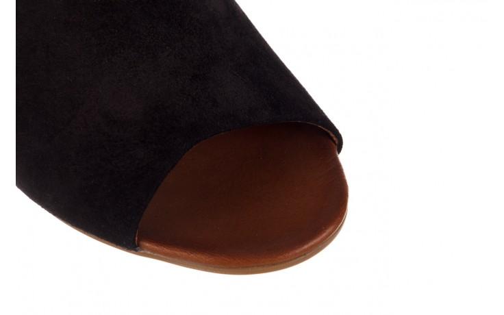 Sandały bayla-161 061 1030 black suede, czarny, skóra naturalna zamszowa - sandały - dla niej  - sale 6