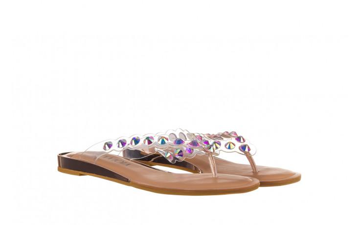 Klapki sca'viola b-174 pink 047167, róż, silikon - klapki - buty damskie - kobieta 1