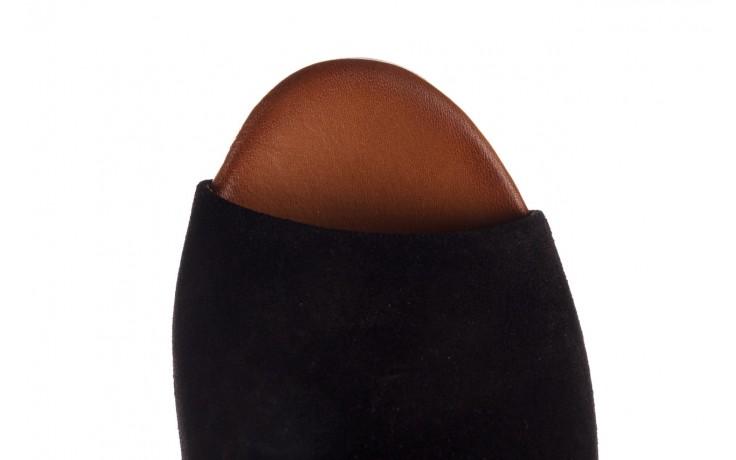 Sandały bayla-161 061 1030 black suede, czarny, skóra naturalna zamszowa - sandały - buty damskie - kobieta 5