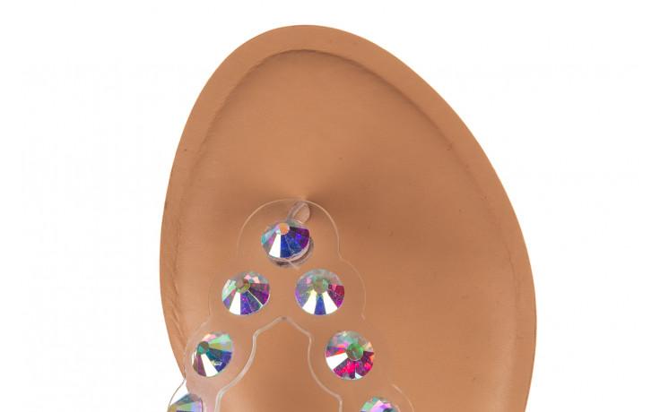 Klapki sca'viola b-174 pink 047167, róż, silikon - klapki - buty damskie - kobieta 5