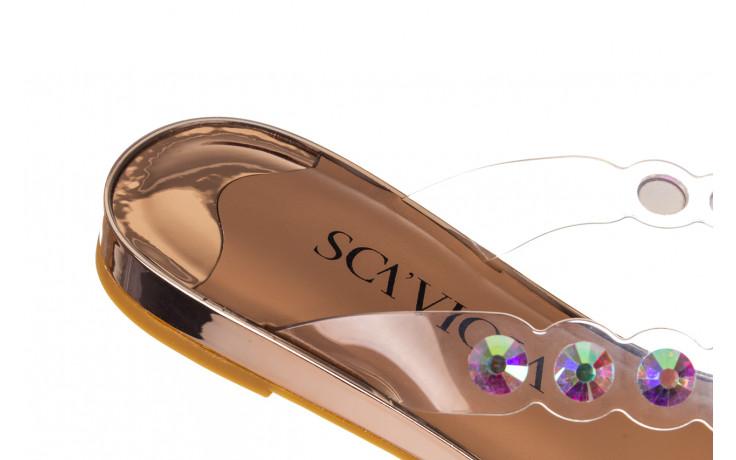 Klapki sca'viola b-174 pink 047167, róż, silikon - klapki - buty damskie - kobieta 7