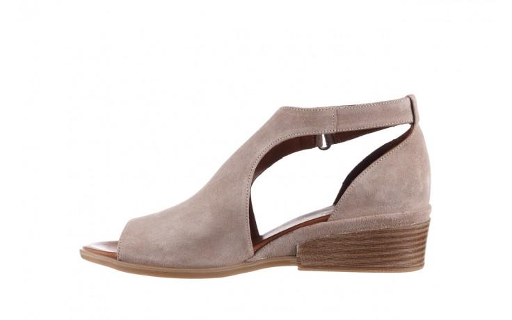 Sandały bayla-161 061 1612 beige suede, beż, skóra naturalna  - skórzane - sandały - buty damskie - kobieta 2