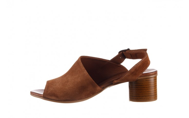 Sandały bayla-161 061 1030 tan suede, brąz, skóra naturalna zamszowa - sandały - dla niej  - sale 2