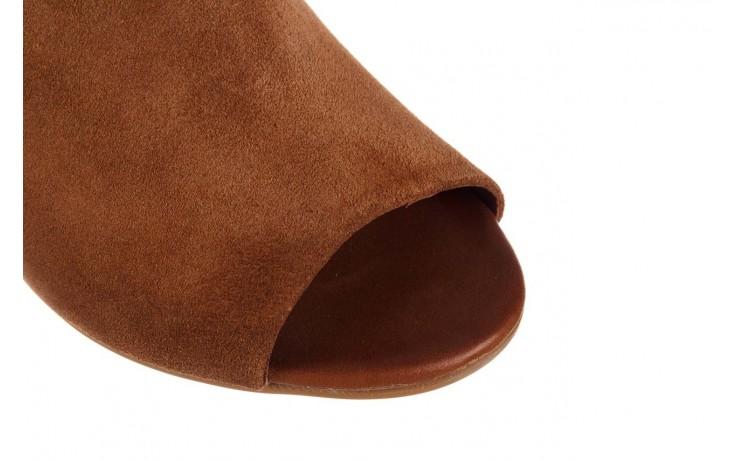 Sandały bayla-161 061 1030 tan suede, brąz, skóra naturalna zamszowa - sandały - dla niej  - sale 6