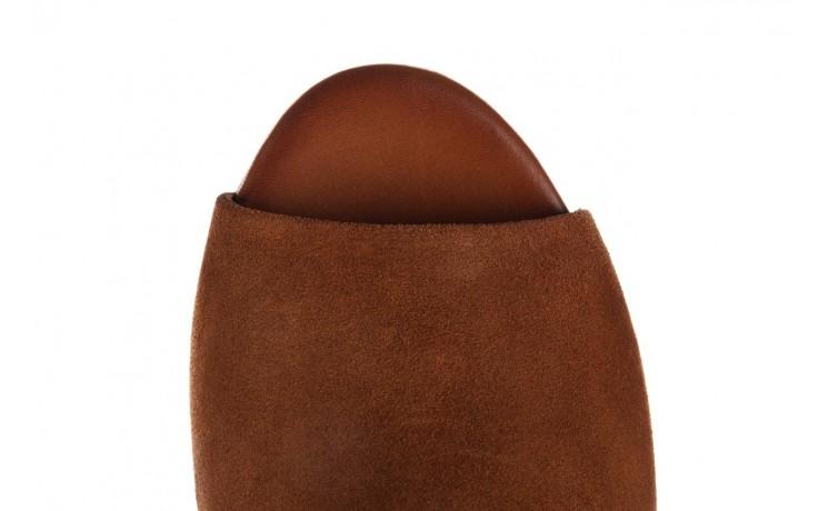 Sandały bayla-161 061 1030 tan suede, brąz, skóra naturalna zamszowa - sandały - dla niej  - sale 5