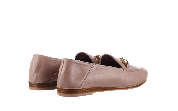 Półbuty bayla-161 138 80127 hat, beż, skóra naturalna - półbuty - buty damskie - kobieta 3