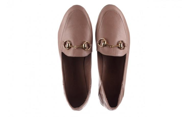 Półbuty bayla-161 138 80127 hat, beż, skóra naturalna - półbuty - buty damskie - kobieta 4