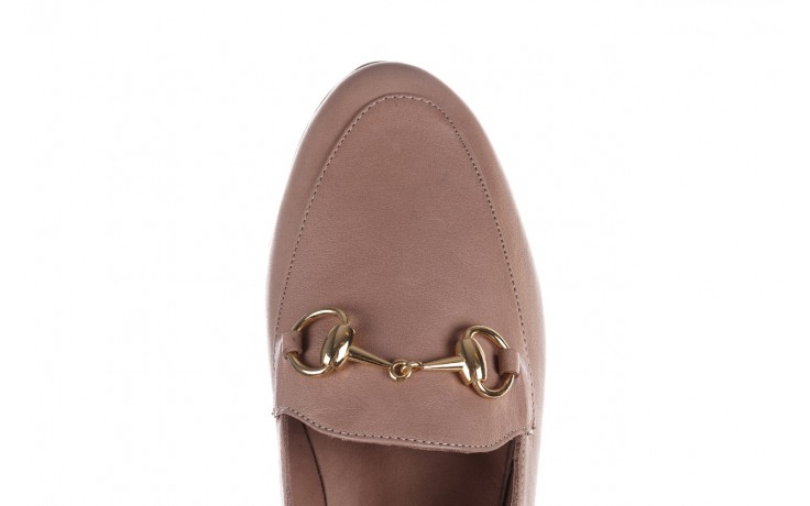 Półbuty bayla-161 138 80127 hat, beż, skóra naturalna - półbuty - buty damskie - kobieta 5