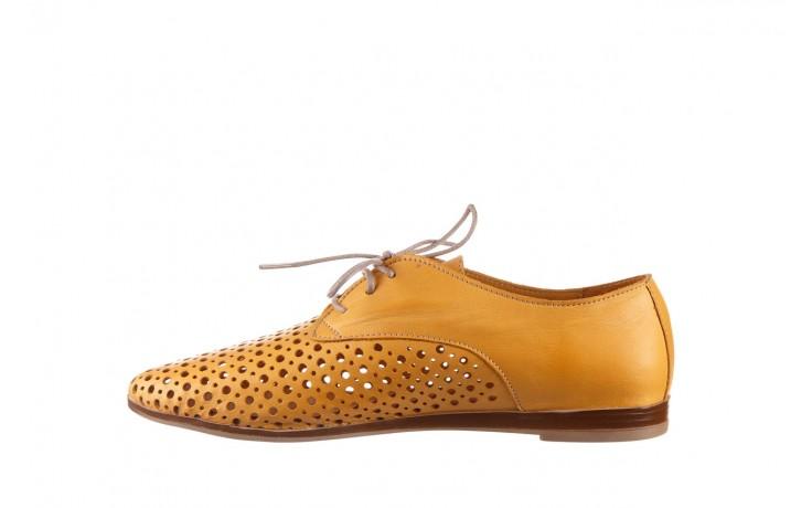 Półbuty bayla-161 138 80129 noce, żółty, skóra naturalna - półbuty - buty damskie - kobieta 2
