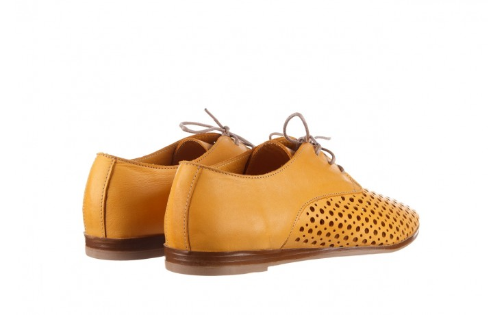 Półbuty bayla-161 138 80129 noce, żółty, skóra naturalna - półbuty - buty damskie - kobieta 3