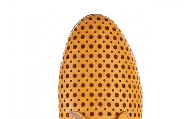 Półbuty bayla-161 138 80129 noce, żółty, skóra naturalna - skórzane - półbuty - buty damskie - kobieta 5