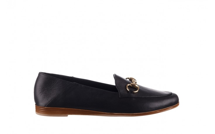 Półbuty bayla-161 138 80127 black, czarny, skóra naturalna - półbuty - buty damskie - kobieta