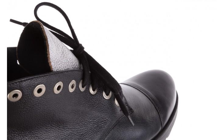 Trzewiki bayla-076 1805 czarne trzewiki, skóra naturalna - trzewiki - buty damskie - kobieta 5
