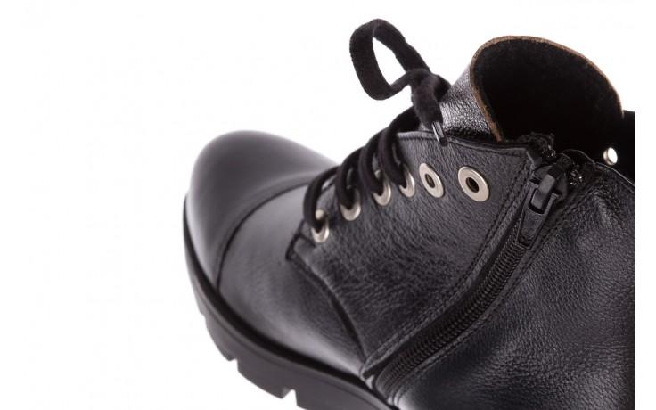 Trzewiki bayla-076 1805 czarne trzewiki, skóra naturalna - trzewiki - buty damskie - kobieta 6