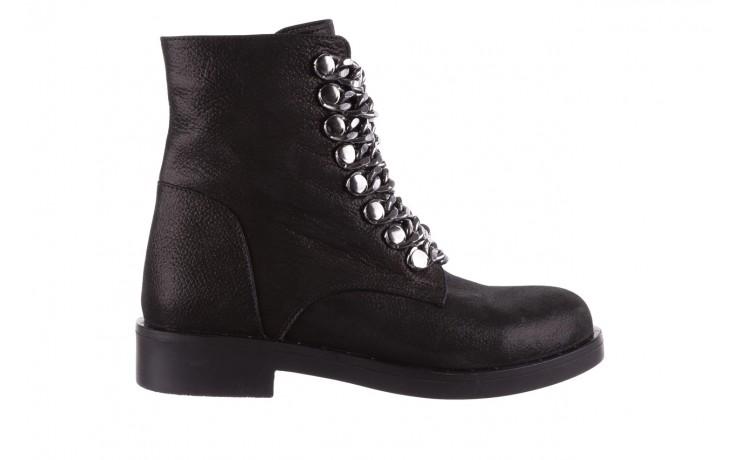 Trzewiki bayla-112 0460-802 czarne, skóra naturalna - trzewiki - buty damskie - kobieta
