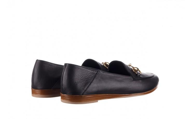 Półbuty bayla-161 138 80127 black, czarny, skóra naturalna - półbuty - buty damskie - kobieta 3